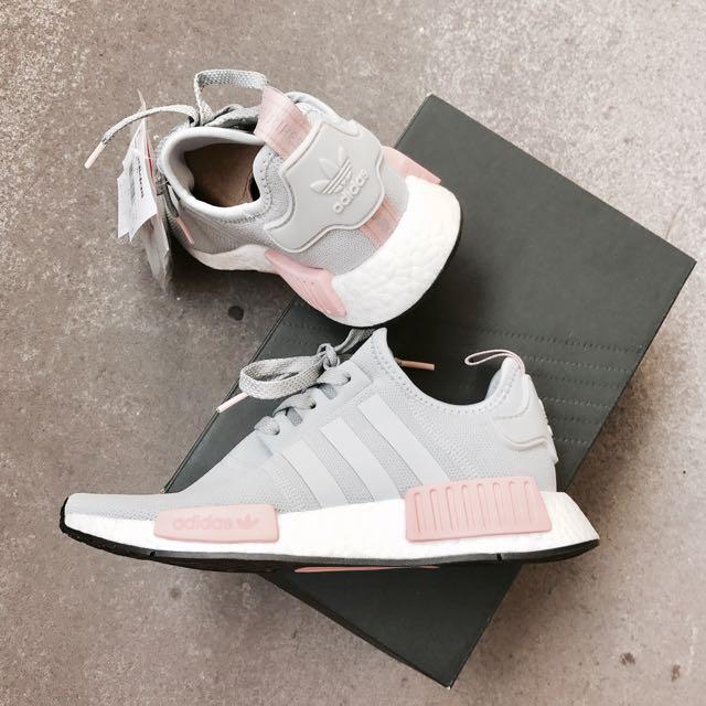 e05230cfb Adidas NMD R1 Onyx Grey Pink