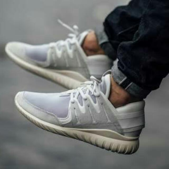 finest selection f8193 2a6b1 Adidas Tubular Nova Vintage White, Men s Fashion, Footwear on Carousell