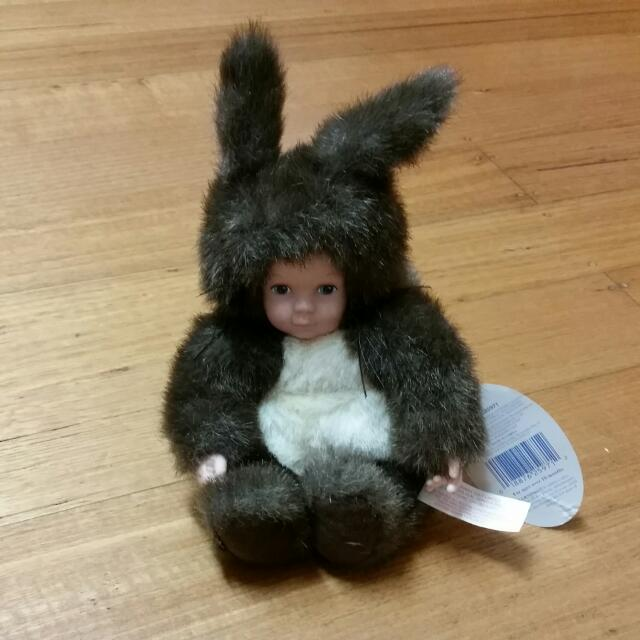 Anne Geddes Baby Squirrel Doll/Plush