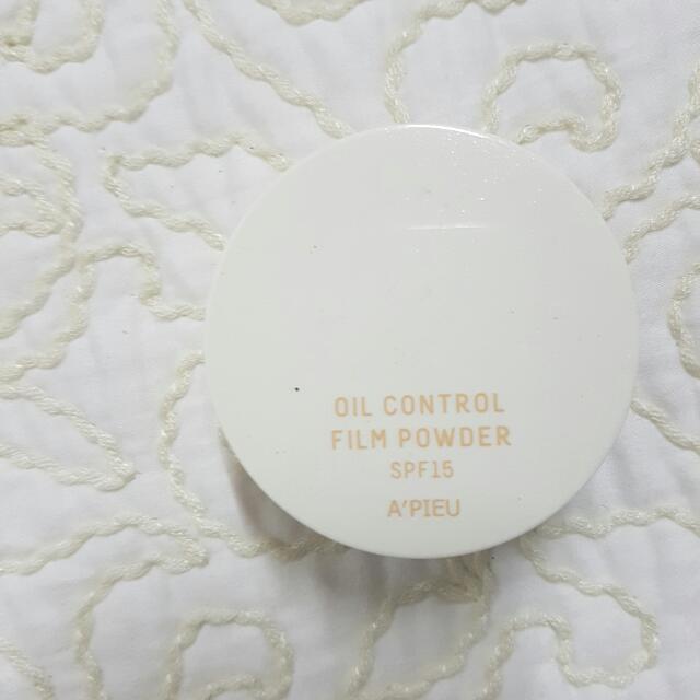 A'pieu Oil Control Film Powder Spf15