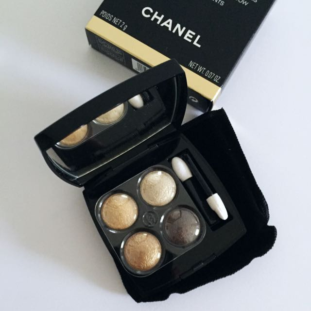 Authentic Chanel Les 4 Ombres Eyeshadow Palette