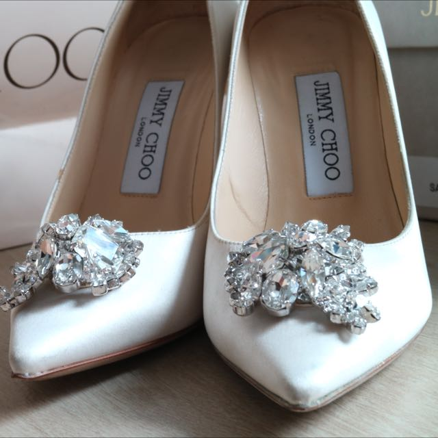 PRE-LOVED AUTHENTIC Jimmy Choo Abel Shoes
