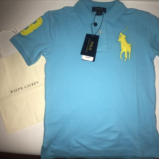 Authentic Ralph Lauren Polo Shirt Size S(8)