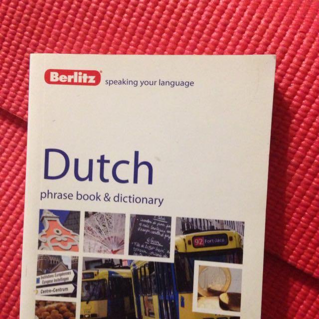 Berlitz dutch phrasebook books stationery books on carousell photo photo fandeluxe Gallery