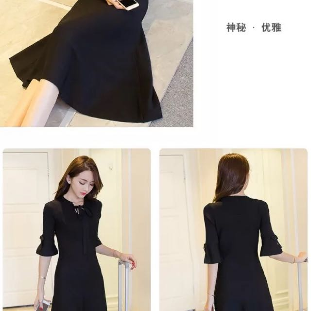 The Forever Elegant Black Dress