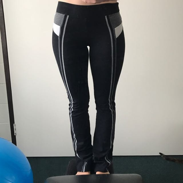 Black Stretchy Exercise Pants