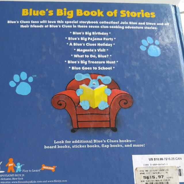 Pending Blues Big Book Of Stories Books Stationery Childrens