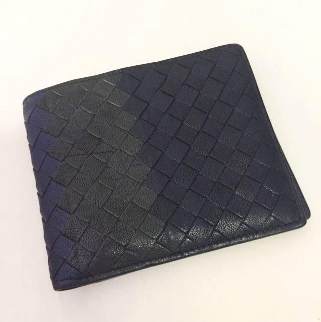 Bottega Veneta Bifold Tri-coloured Wallet