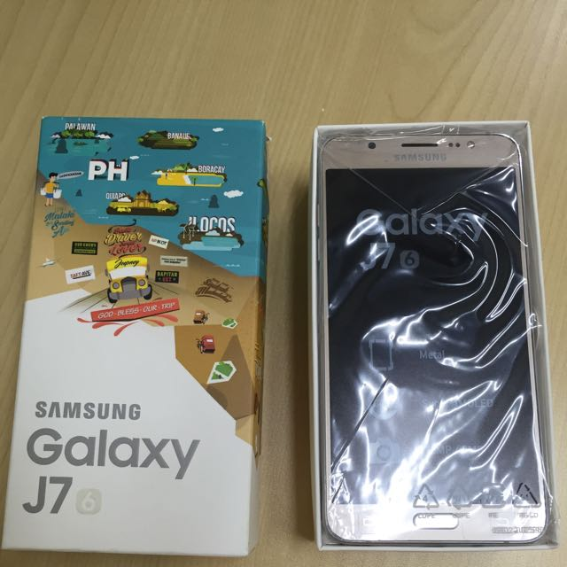 BRAND NEW Samsung Galaxy J7 GOLD 2016 with FREE pre-owned SmartBro Pocket Wifi