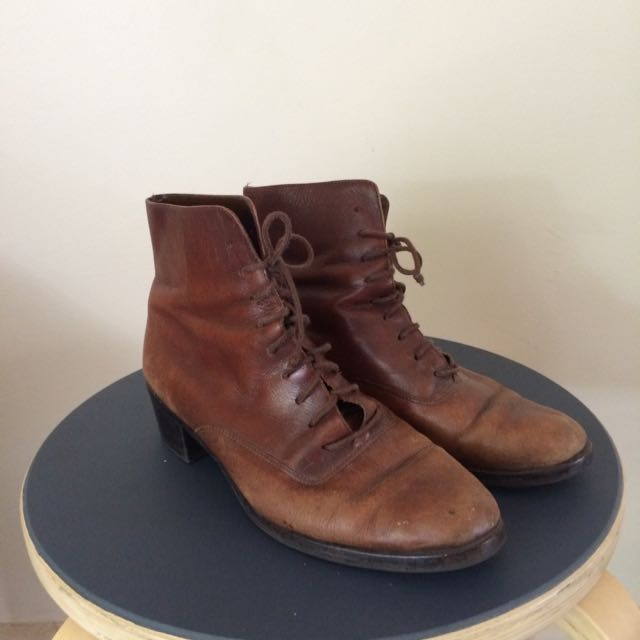 Brown all Leather Boots