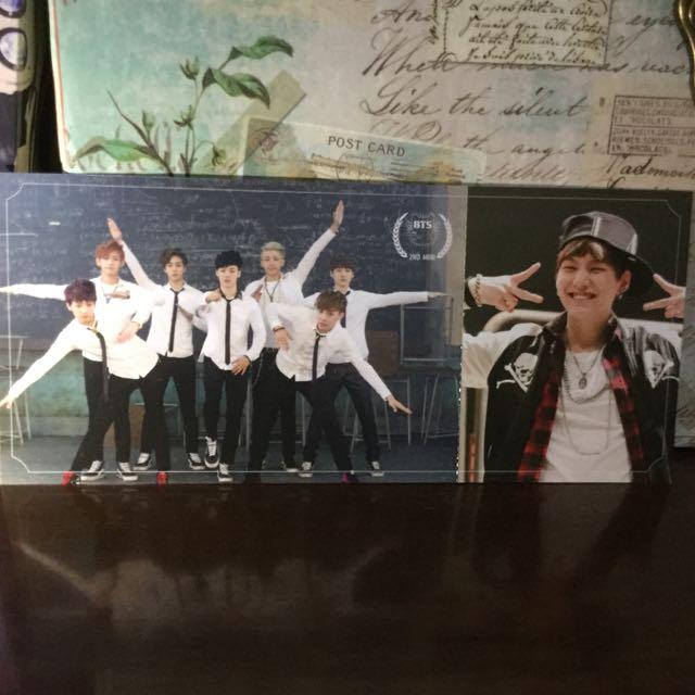 BTS Suga/ Group Photo card