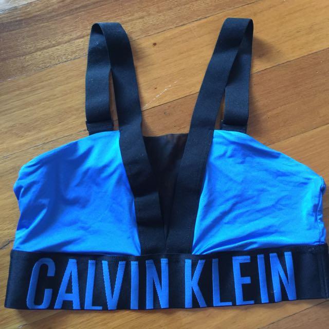 Calvin Kelvin Blue Bralette