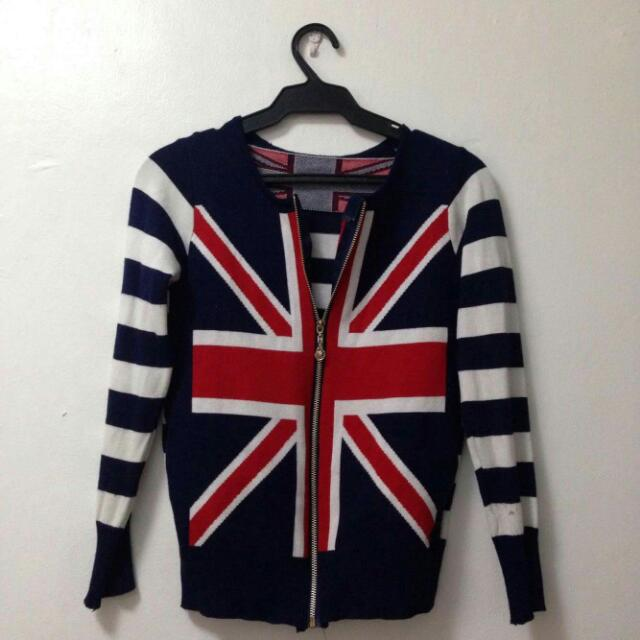 Cotton United Kingdom Printed Jacket