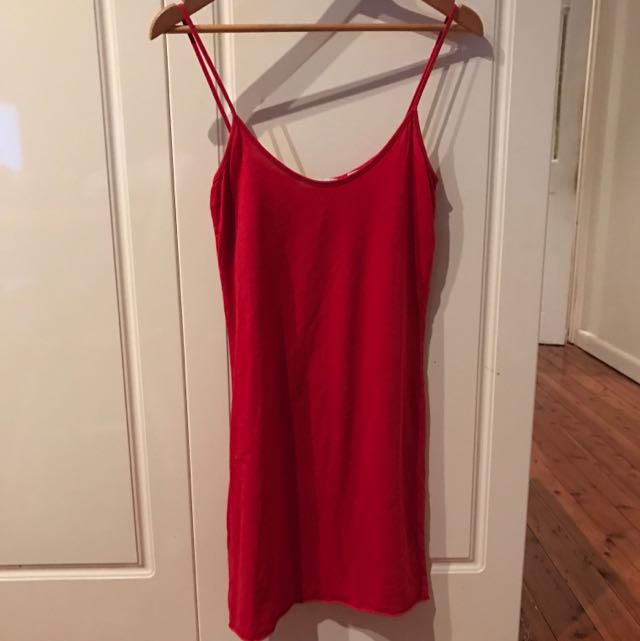 Country Road Dress/Slip Size M