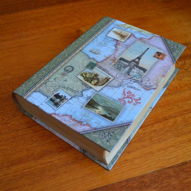 Decorative book storage box