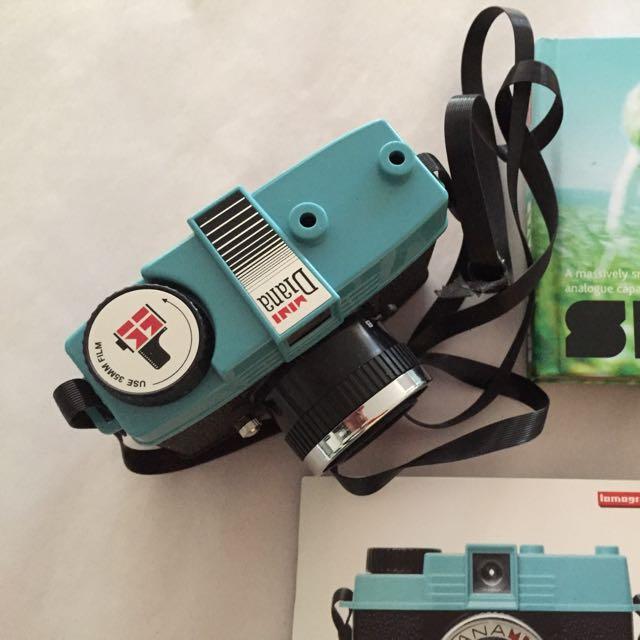 Diana Mini 35mm Lomography Camera