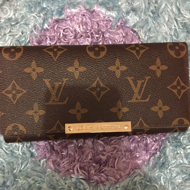 Dompet Louis Vuitton klasik second