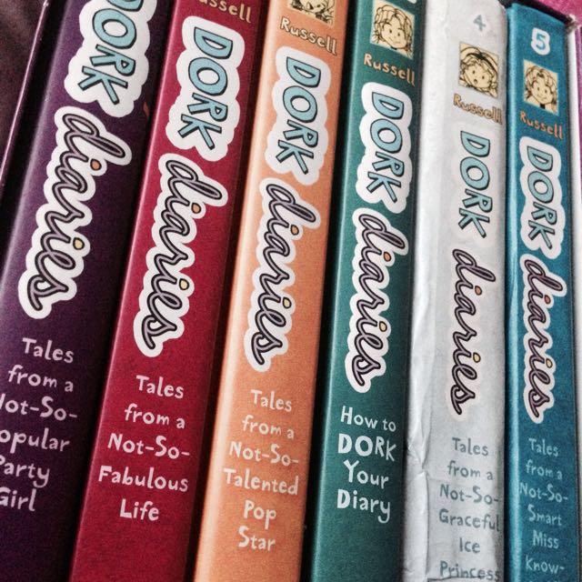Dork Diaries Set (Book 1-5)