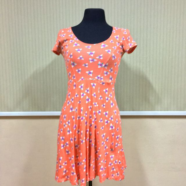 DOROTHY PERKINS Floral Salmon Dress