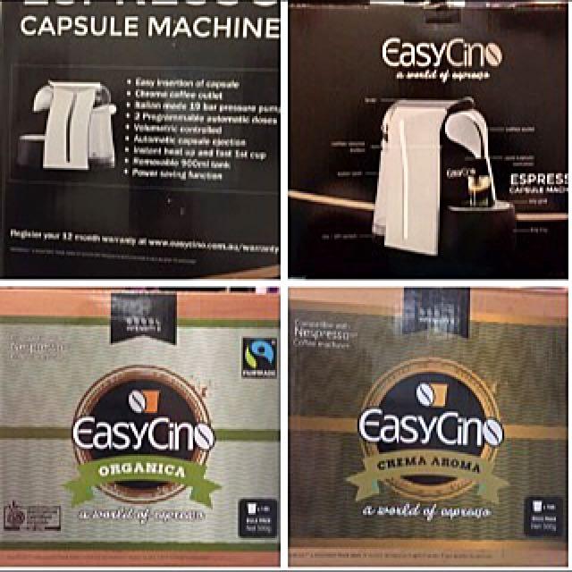 EasyCino Espresso Capsule Machine