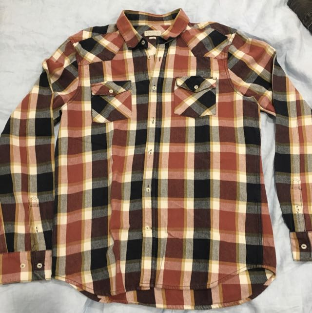 Elwood Heavy Flannel Shirt