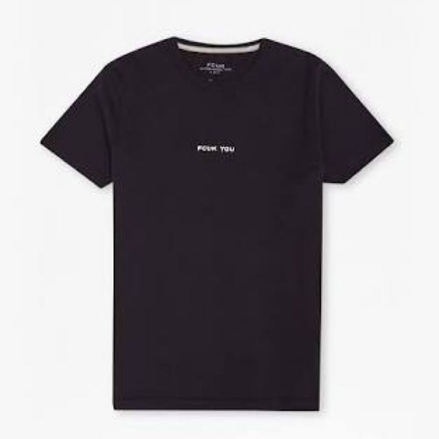 Fcuk You French Connection T Shirt