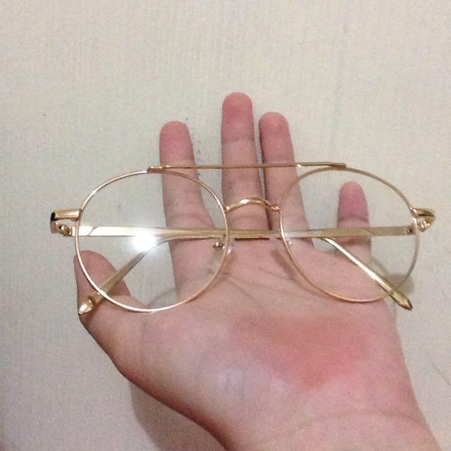 Frame Kacamata Gold