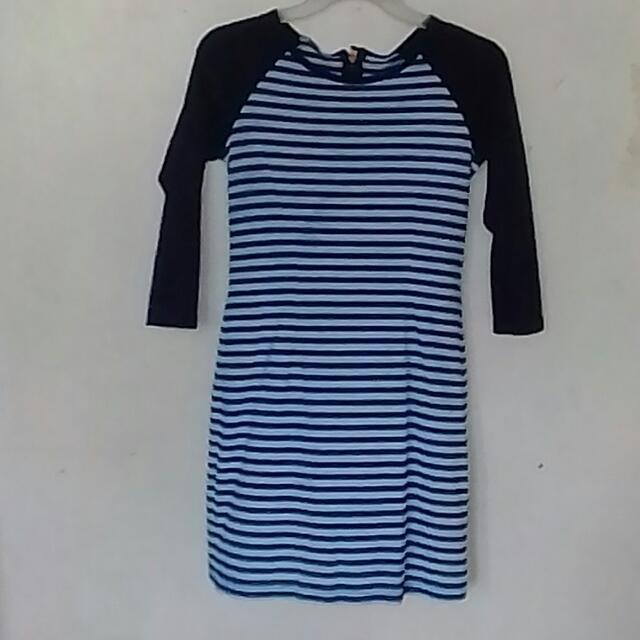 F/X Blue Striped Dress