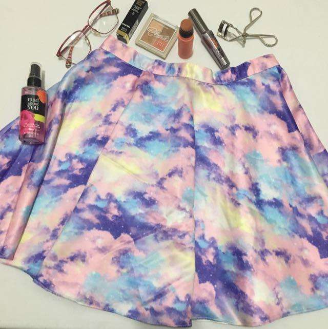 Galaxy Flare Skirt