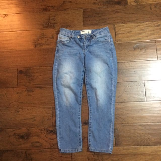 Garage Cropped Jeans