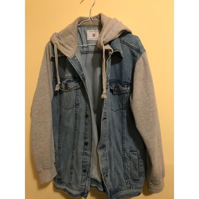 Ghanda Men's Denim Jacket (L)