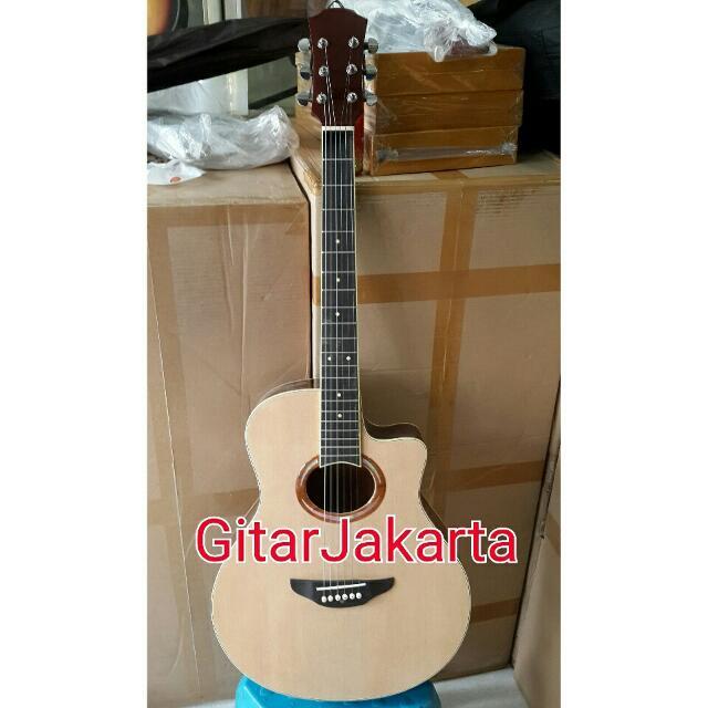Gitar Akustik Natural Tipe Apx500ii Murah Jakarta Musik Media Alat Di Carousell