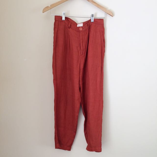 Gorman Burnt Orange Pant