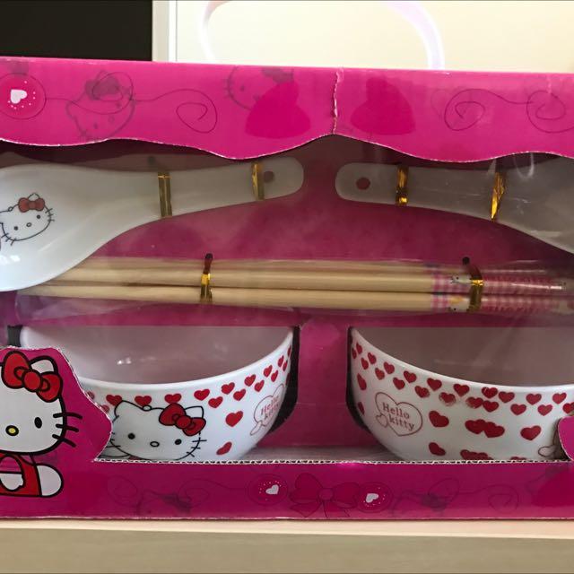 Hello Kitty 餐具組