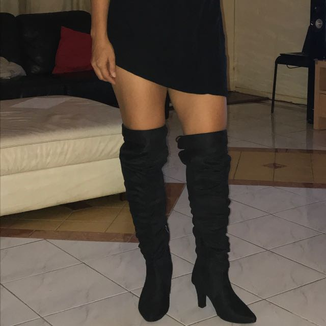 High Knee Boots (above the knee)