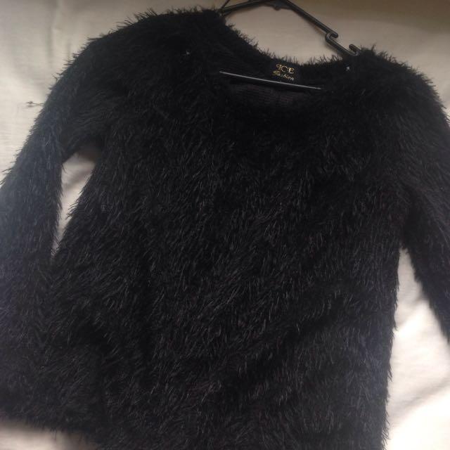Ice Fashion Fur Jumper