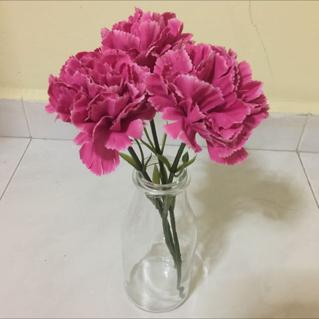 Ikea Ensidig Flower Vase Furniture Home Decor On Carousell