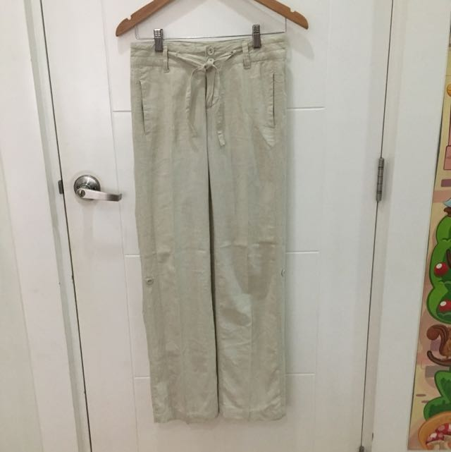 2-way Drawstring Khaki Pants