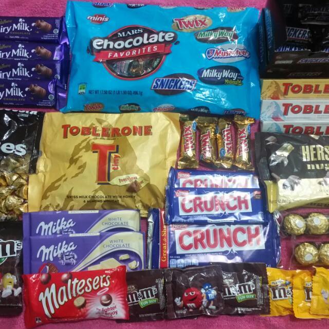 Imported Chocolates