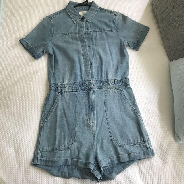 Insight Denim Playsuit Size 6