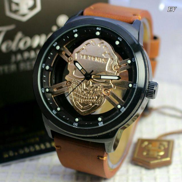Jam Tangan Pria Tetonis Skull Original 5e5e388779