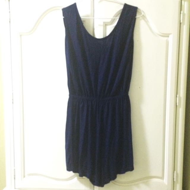 Jumpsuit Blue Navy Preloved