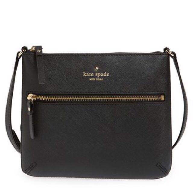 "Kate Spade ""Tenley"" Saffiano Leather Crossbody Bag"