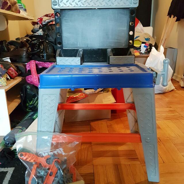 Kids Toy Work Bench