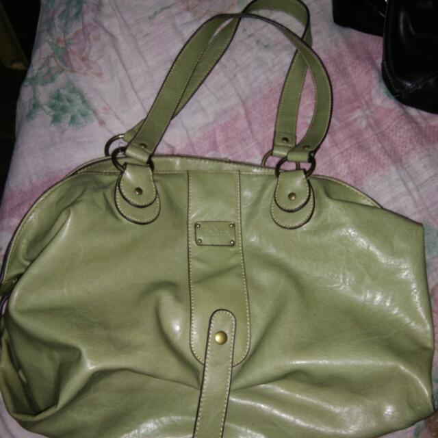 Liz & Co.  Green Bag