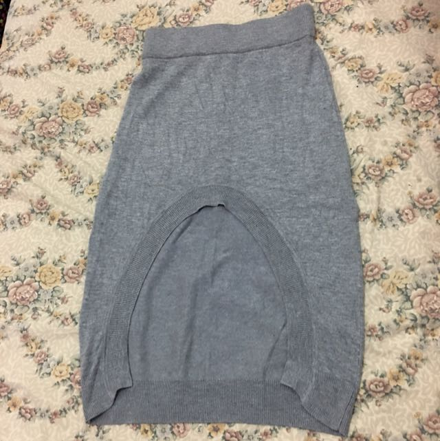 Long Back Skirt