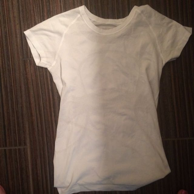 Lulu Lemon White Tee