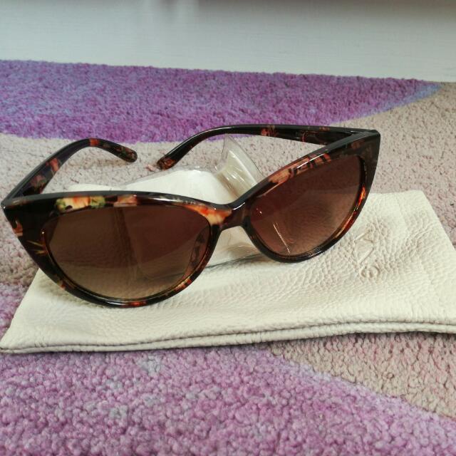 Mango MNG Cat Eyes Sunglasses