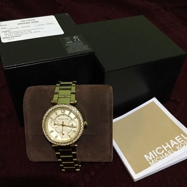 Michael Kors Gold Watches