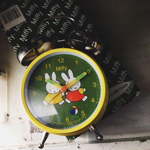 MIFFY ALARM BELL CLOCK